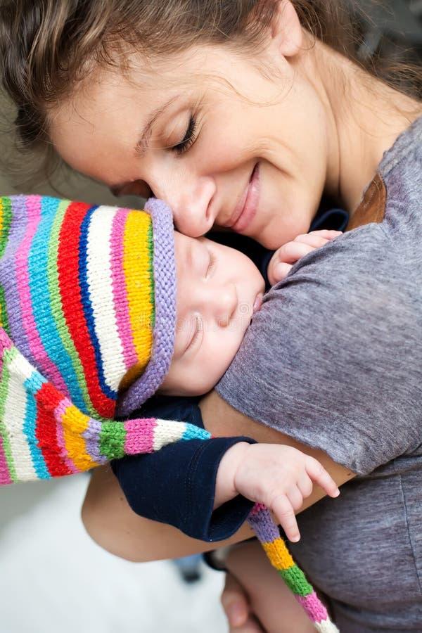 Μητέρα με το μωρό της στοκ εικόνες