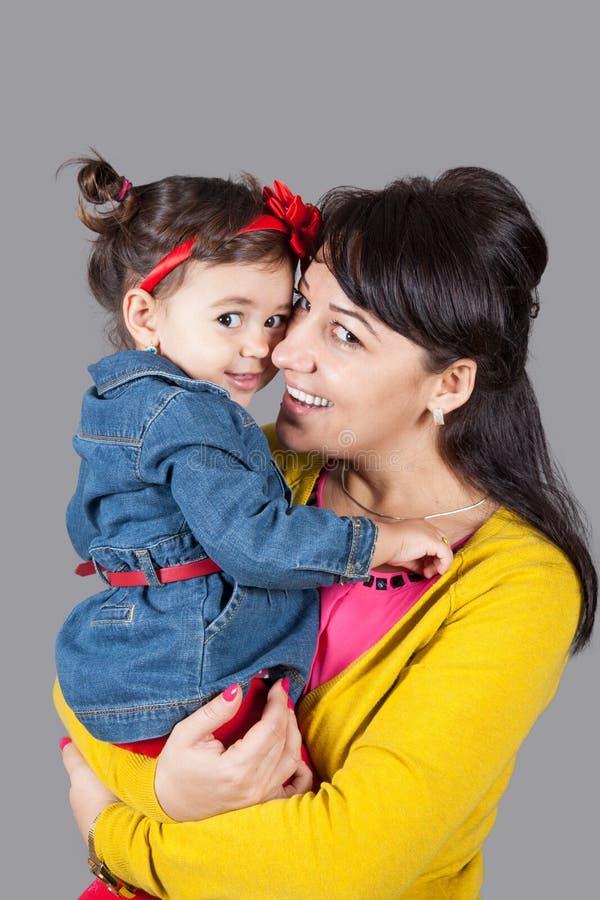 Μητέρα με την κόρη στοκ φωτογραφίες με δικαίωμα ελεύθερης χρήσης