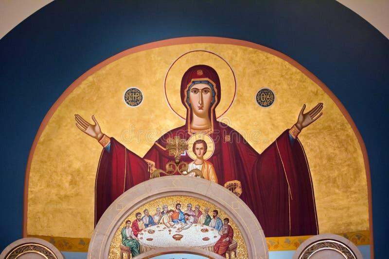 Μητέρα Mary και παιδί Χριστού στοκ φωτογραφία με δικαίωμα ελεύθερης χρήσης