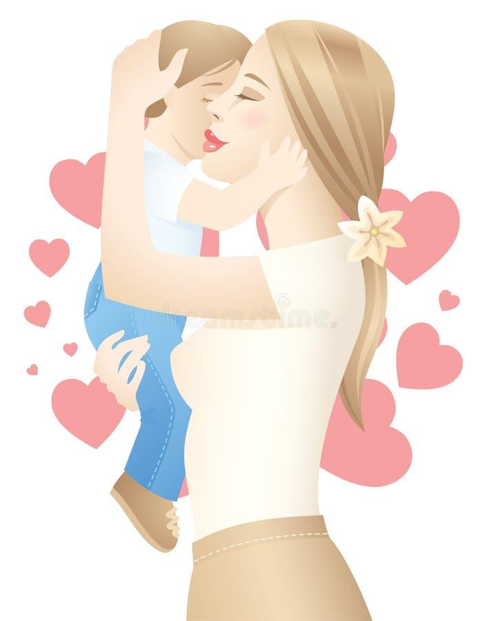 Download μητέρα s αγάπης διανυσματική απεικόνιση. εικονογραφία από φίλων - 17053476