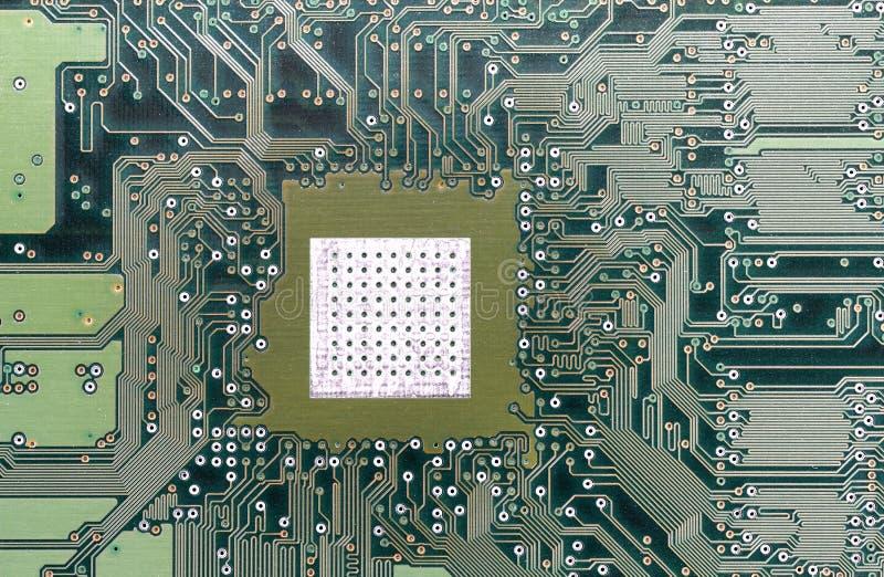 Μητρική κάρτα υλικού υπολογιστών στοκ εικόνα με δικαίωμα ελεύθερης χρήσης