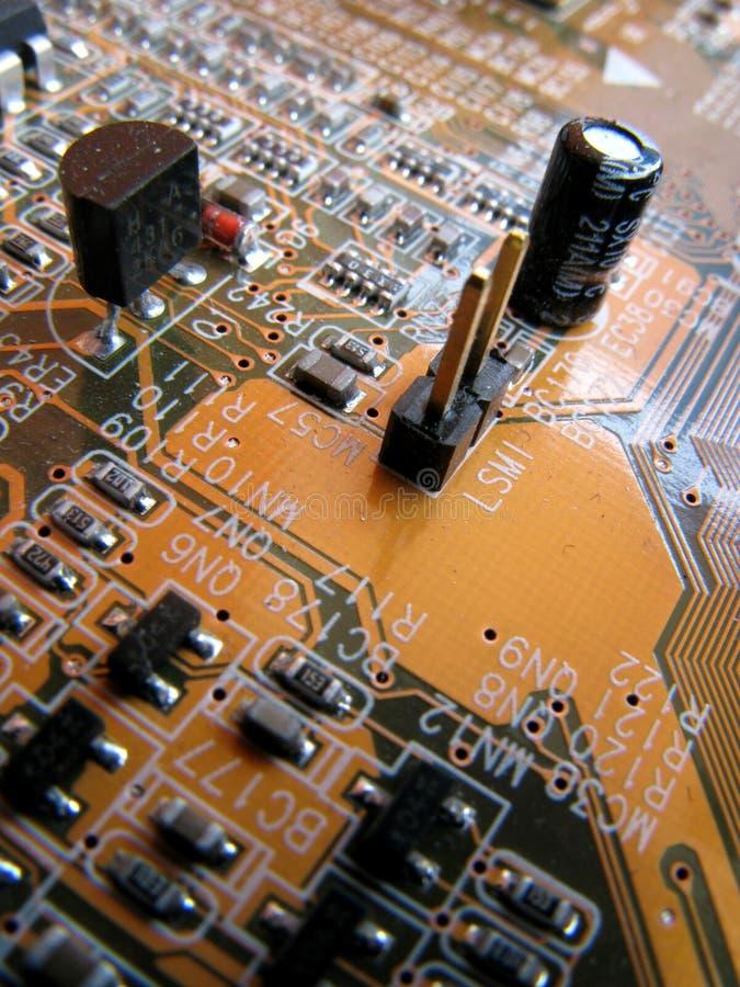 μητρική κάρτα υπολογιστών στοκ εικόνα
