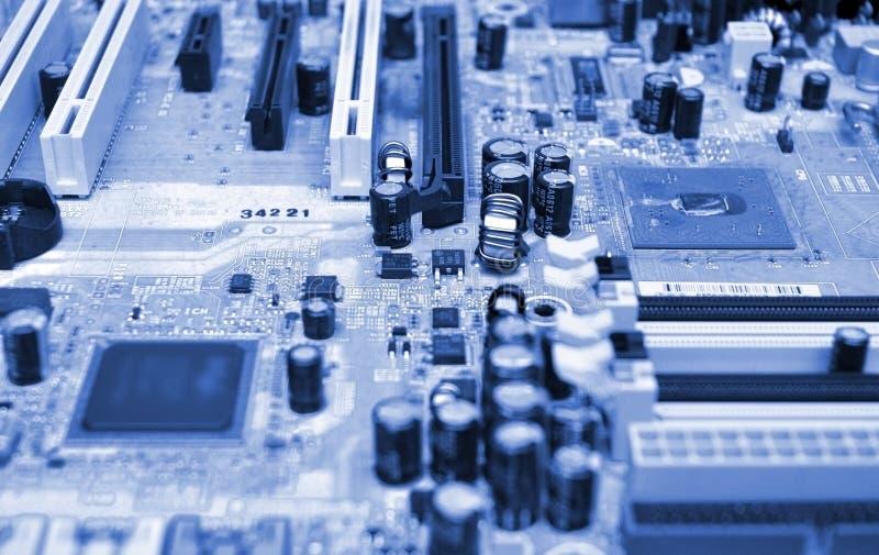 μητρική κάρτα υπολογιστών στοκ εικόνες