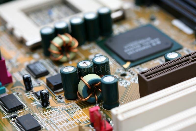 μητρική κάρτα υπολογιστών στοκ εικόνα με δικαίωμα ελεύθερης χρήσης