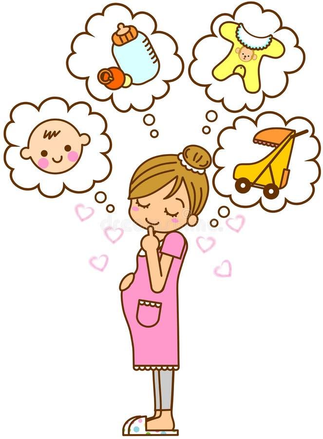 μητρότητα απεικόνισης διανυσματική απεικόνιση