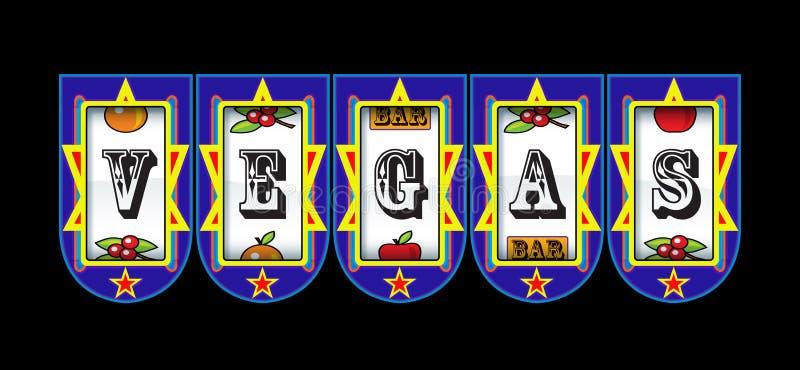 Μηχάνημα τυχερών παιχνιδιών με κέρματα του Λας Βέγκας ελεύθερη απεικόνιση δικαιώματος