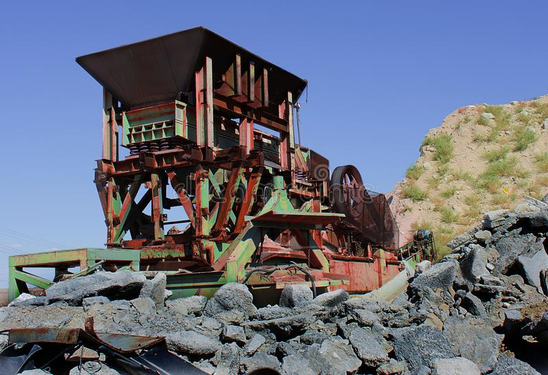 μηχανήματα παλαιά Διακόπτης βράχου στοκ φωτογραφία με δικαίωμα ελεύθερης χρήσης