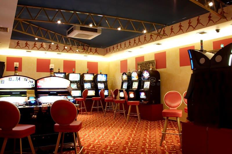 Μηχανήματα τυχερών παιχνιδιών με κέρματα στοκ φωτογραφίες με δικαίωμα ελεύθερης χρήσης