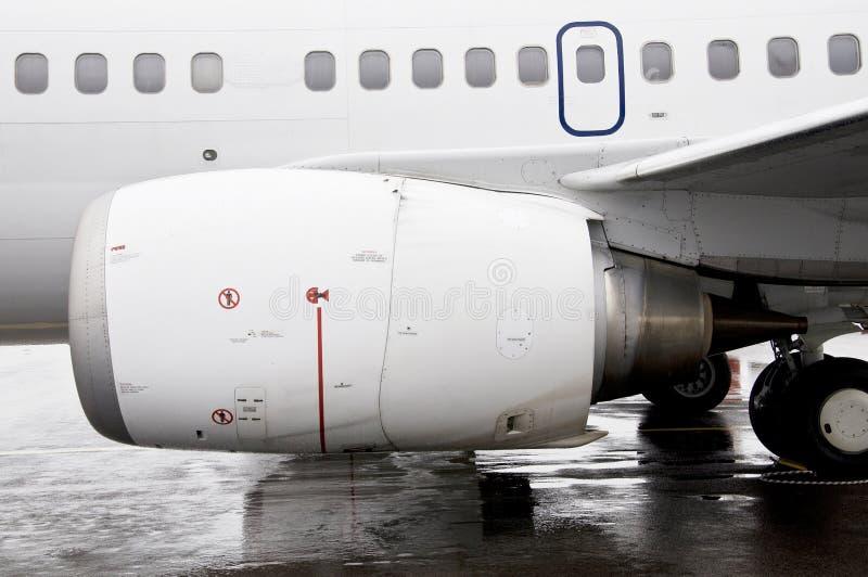 μηχανή αεροπλάνων στοκ εικόνες με δικαίωμα ελεύθερης χρήσης