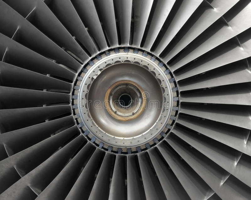 Μηχανή αεροσκαφών στοκ φωτογραφίες