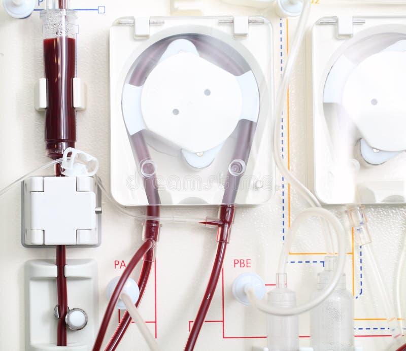Μηχανή αιμοδιάλυσης στην εργασία. στοκ εικόνες