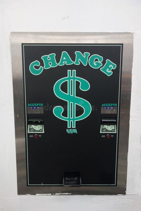 Μηχανή αλλαγής του Μπιλ στοκ εικόνα με δικαίωμα ελεύθερης χρήσης