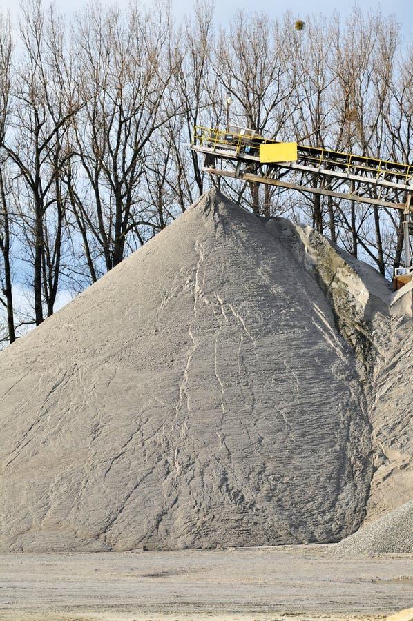 Μηχανή εξαγωγής αμμοχάλικου στοκ φωτογραφία με δικαίωμα ελεύθερης χρήσης