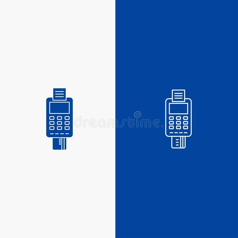Μηχανή, επιχείρηση, κάρτα, έλεγχος, πιστωτική κάρτα, μηχανή πιστωτικών καρτών, πληρωμή, γραμμή του ATM και στερεά γραμμή εμβλημάτ απεικόνιση αποθεμάτων