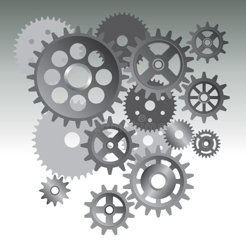 Μηχανή εργαλείων ελεύθερη απεικόνιση δικαιώματος
