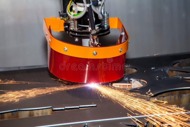 Μηχανή μετάλλων λέιζερ στοκ εικόνες με δικαίωμα ελεύθερης χρήσης