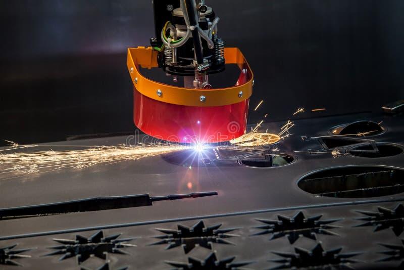 Μηχανή μετάλλων λέιζερ στοκ εικόνα με δικαίωμα ελεύθερης χρήσης