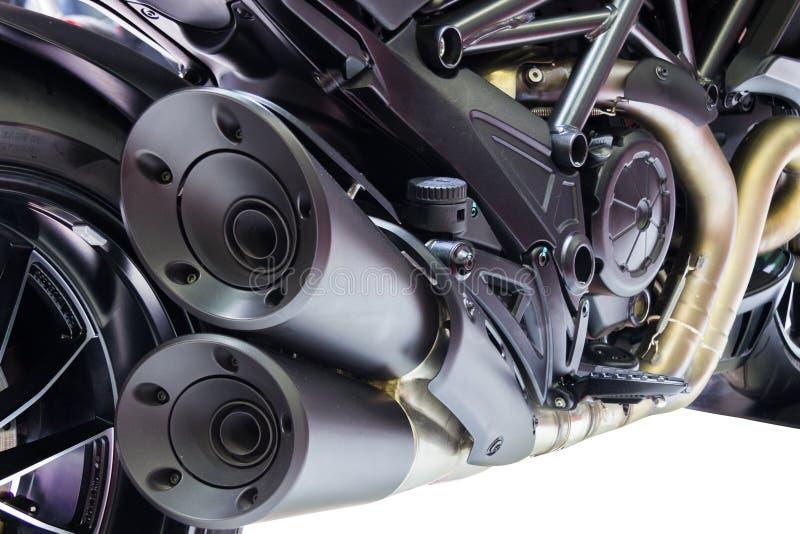 Μηχανή μοτοσικλετών στοκ φωτογραφία