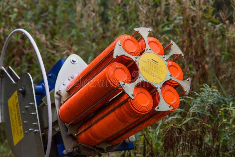 Μηχανή παγίδων για την πυροβολισμός-επίγεια κατάρτιση στοκ φωτογραφίες με δικαίωμα ελεύθερης χρήσης