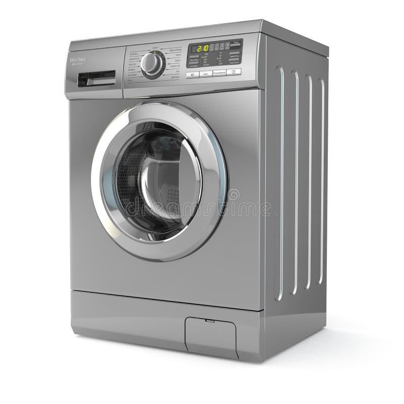 μηχανή που καλύπτονται στενή επάνω στην πλύση απεικόνιση αποθεμάτων