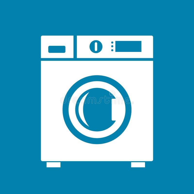 μηχανή που καλύπτονται στενή επάνω στην πλύση διανυσματική απεικόνιση