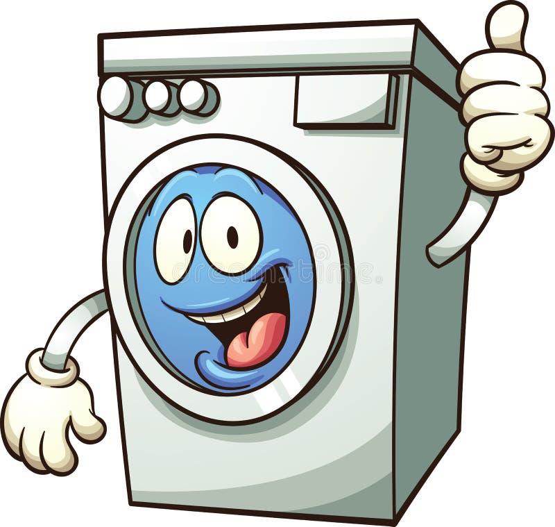 μηχανή που καλύπτονται στενή επάνω στην πλύση ελεύθερη απεικόνιση δικαιώματος