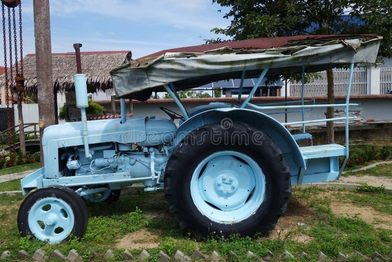 Μηχανή στο μουσείο μεταλλείας κασσίτερου Kinta σε Kampar, Μαλαισία στοκ εικόνα