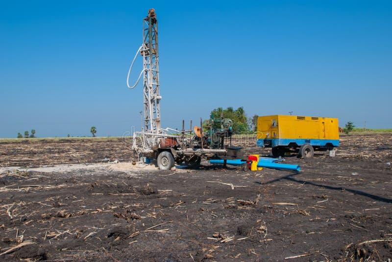 Μηχανή Ταϊλάνδη, μηχανή τρυπανιών νερού τρυπανιών νερού στην Ταϊλάνδη στοκ φωτογραφία με δικαίωμα ελεύθερης χρήσης