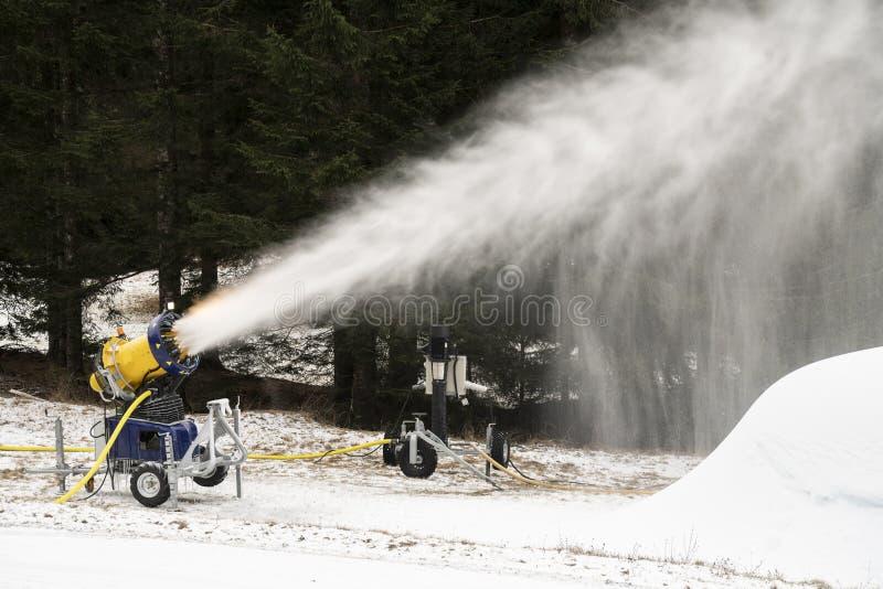Μηχανή χιονιού στοκ εικόνες