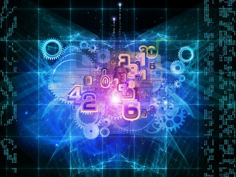 μηχανή math διανυσματική απεικόνιση