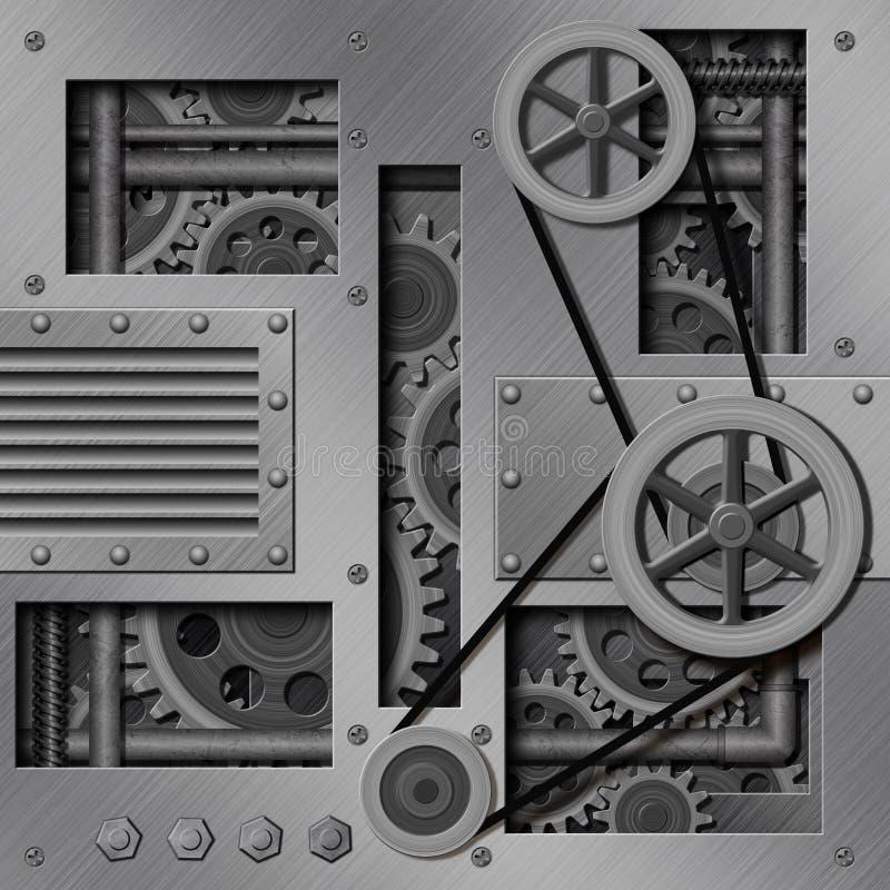Μηχανική ανασκόπηση ελεύθερη απεικόνιση δικαιώματος