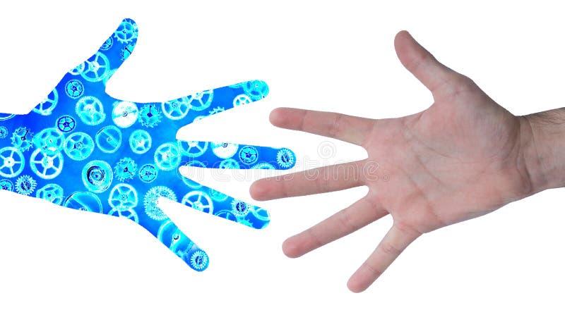 Μηχανικό χέρι στοκ φωτογραφία με δικαίωμα ελεύθερης χρήσης