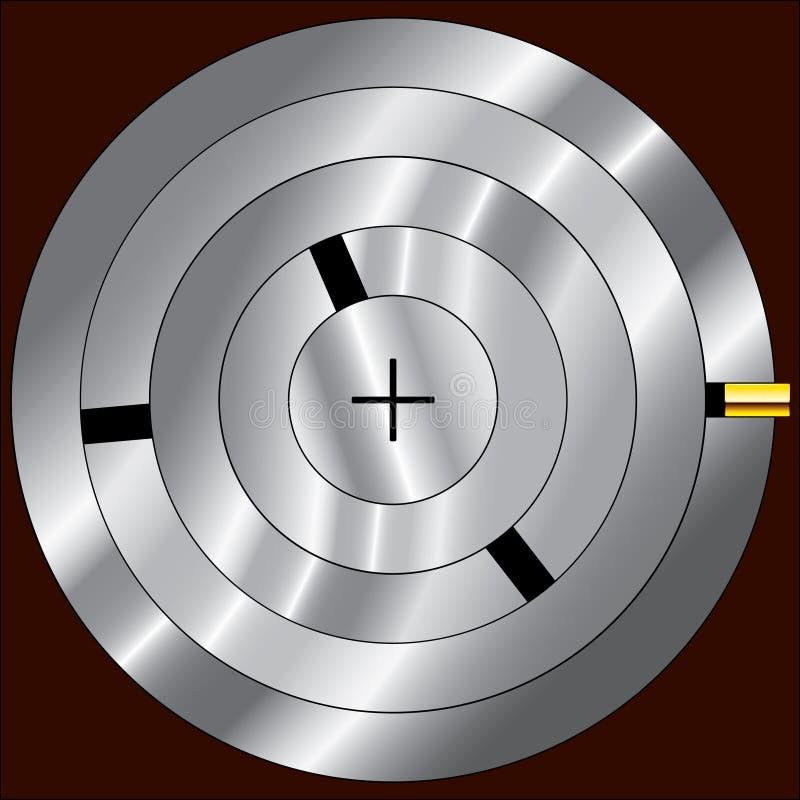 μηχανισμός κλειδωμάτων ελεύθερη απεικόνιση δικαιώματος