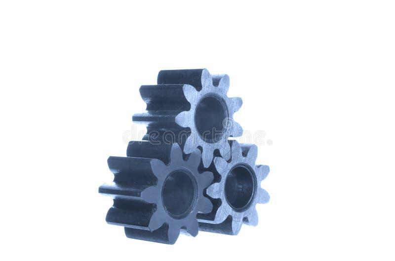 Μηχανισμός με cog-wheels στοκ εικόνα με δικαίωμα ελεύθερης χρήσης