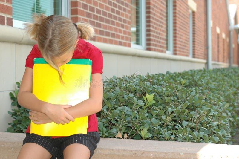 μη έτοιμο σχολείο στοκ φωτογραφία με δικαίωμα ελεύθερης χρήσης