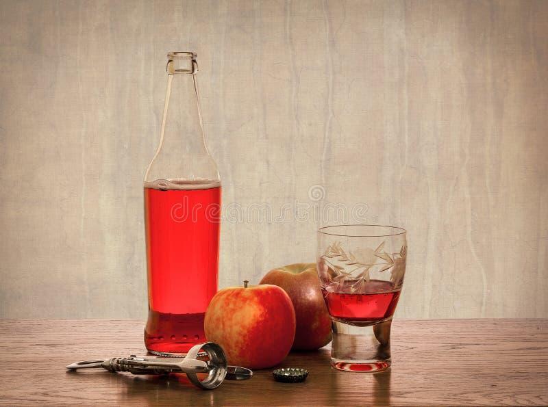 Μηλίτης και μήλα στοκ εικόνα με δικαίωμα ελεύθερης χρήσης