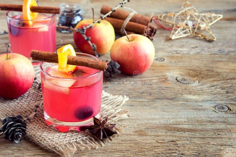 Μηλίτης των βακκίνιων και μήλων στοκ φωτογραφία με δικαίωμα ελεύθερης χρήσης