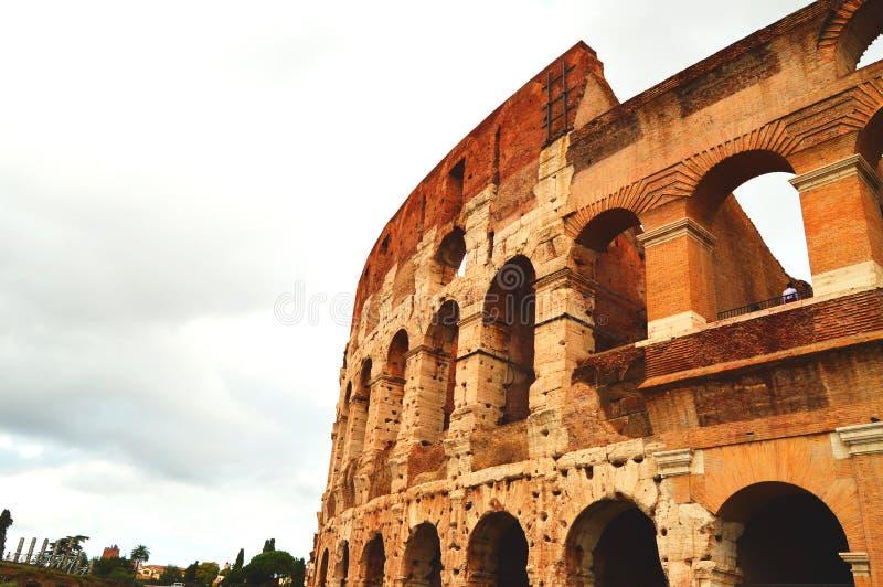 Μια άλλη εικόνα του Colosseum στη Ρώμη, Ιταλία, ένα αντίγραφο του διαστήματος στοκ εικόνες με δικαίωμα ελεύθερης χρήσης