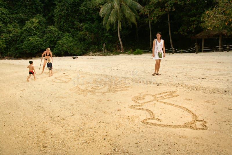 Μια άμμος στοκ φωτογραφία με δικαίωμα ελεύθερης χρήσης