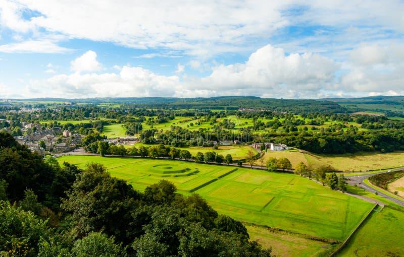 Μια άποψη από Stirling Castle - Stirling - τη Σκωτία στοκ εικόνες με δικαίωμα ελεύθερης χρήσης