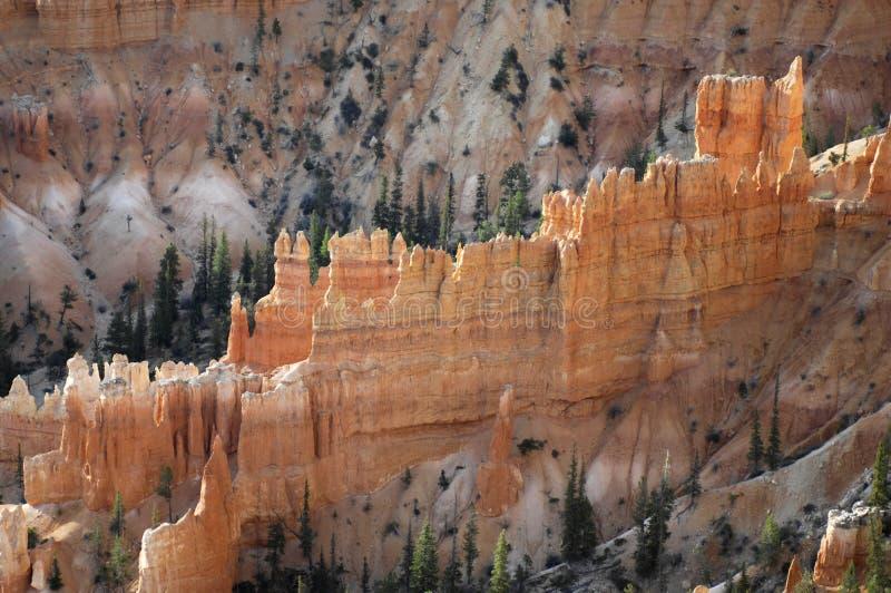 Μια άποψη ξημερωμάτων από το σημείο έμπνευσης στο εθνικό πάρκο φαραγγιών του Bryce, UT στοκ εικόνες με δικαίωμα ελεύθερης χρήσης