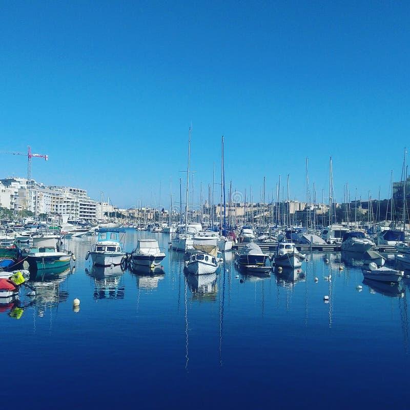 Μια άποψη στη Μάλτα στοκ εικόνες