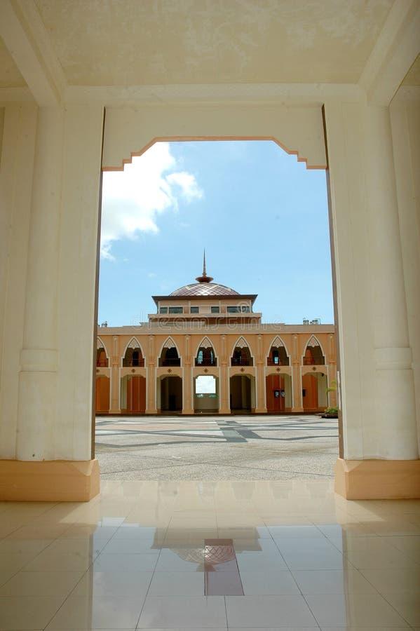 Μια άποψη στο μουσουλμανικό τέμενος Baitul Izzah Στοκ Εικόνα