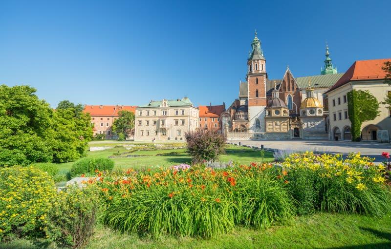Μια άποψη της Κρακοβίας στην Πολωνία στοκ εικόνα με δικαίωμα ελεύθερης χρήσης