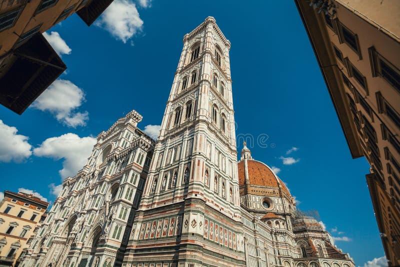 Μια άποψη του καθεδρικού ναού της Σάντα Μαρία del Fiore στη Φλωρεντία, Τοσκάνη στοκ φωτογραφίες