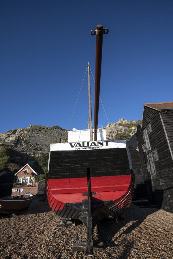 Μια άποψη του τετάρτου μουσείων του ψαρά, Hastings, ανατολικό Σάσσεξ, Αγγλία στοκ εικόνες