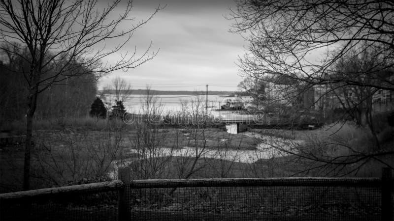Μια άποψη του ωκεανού του πάρκου παίζουμε μέσα στοκ εικόνες