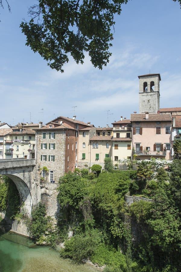 Μια άποψη Cividale del Friuli στοκ φωτογραφίες