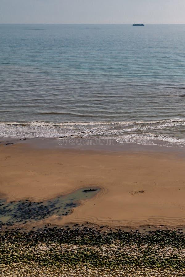 Μια άποψη Compton του κόλπου, Isle of Wight στοκ φωτογραφία με δικαίωμα ελεύθερης χρήσης