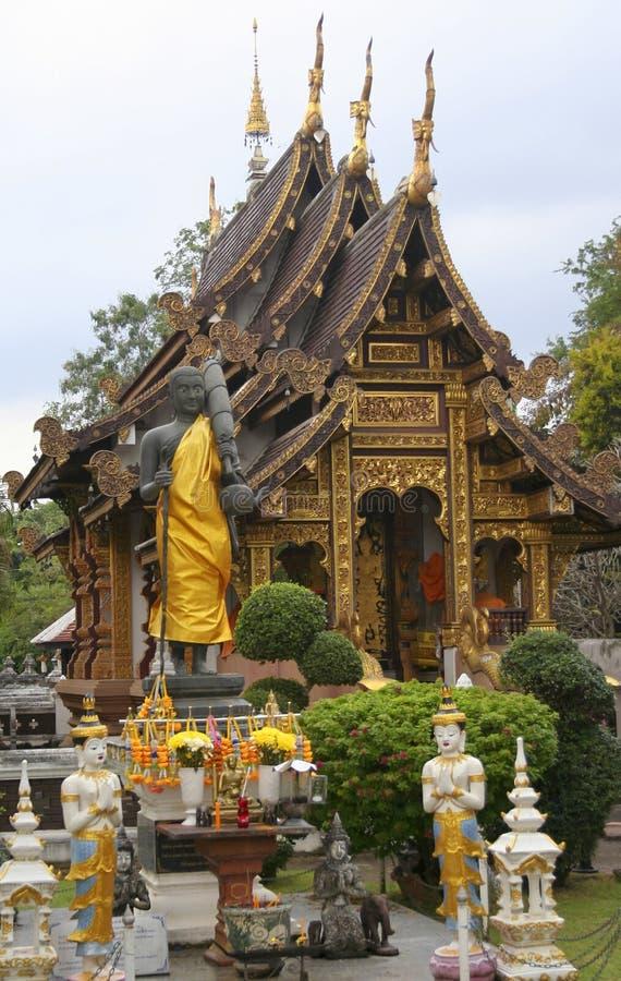 Μια άποψη Wat Chedi Liam, Wiang Kam, Chiang Mai, Ταϊλάνδη στοκ εικόνα με δικαίωμα ελεύθερης χρήσης